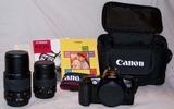Equipo fotográfico réflex Cannon EOS 500 - foto