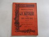 j.c.kessler,24 studi,op.20,ricordi,1894. - foto