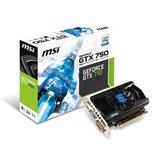 MSI GeForce GTX750 OC 2GB - foto