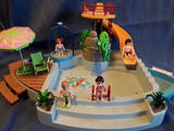 Piscina de playmobil - foto