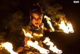Espectaculo de fuego y danza del vientre - foto