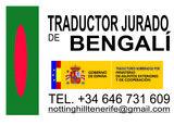 Traductor jurado Bengalí. - foto