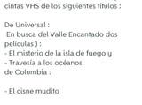 Películas Disney VHS, originales - foto