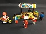 playmobil puesto alimentación - foto