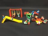 parque infantil de playmobil - foto