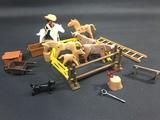 lote granja playmobil - foto