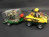 jeep y remolque safari playmobil - foto