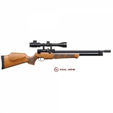 rifle KRAL PCP Puncher de madera - foto
