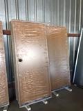 Puerta color madera roble - foto