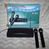 Receiver  y microfonos inalambrico - foto