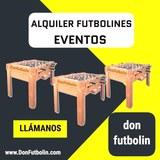 Alquiler de Futbolines y Recreativas - foto