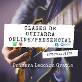 CLASE DE GUITARRA - foto