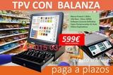 tpv con balanza - foto