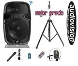 altavoz bateria 1200w & AUDIO STOCK-BDN - foto