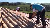 Los profesionales de tejado y tejas - foto