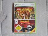 Indiana Jones y Kung Fu Panda Xbox 360 - foto