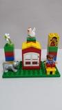 Lego Duplo Casa con Niña y Gato - foto
