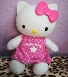 Muñeca peluche Hello kitty buenas noches - foto