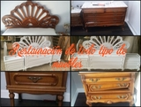 Lacado y restauración de muebles - foto