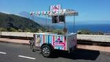 Food truck carro venta de helados - foto