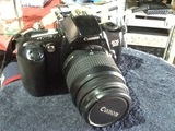 Maquina de fotos réflex canon EOS-500 - foto