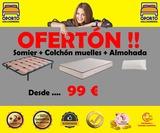 ¡¡¡OFERTON SOMIER Y COLCHON 99  ¡¡¡ - foto