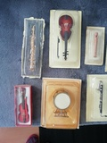 Instrumentos músicales en miniatura. - foto