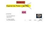 Espiral de PISTA Esc. N (Madeira) - foto