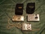 Cámaras de fotos antiguas Nikon y Eclips - foto