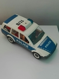 Coche de policia de Playmobil. - foto