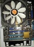 ASUS P5G41-M + Q8400 + 4GB RAM 800 - foto