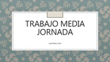 BUSCO TRABAJO A MEDIA JORNADA - foto