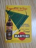Calendario de Liga 1957-1958. \nMARTINI. - foto