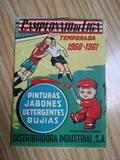 Calendario de Liga 1960-1961\nDISA. - foto