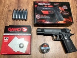 pack pistola CO2 gamo réplica colt 1911 - foto