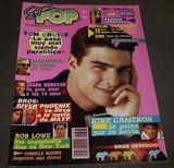 SUPER POP MAGAZINE 1989 TOM CRUISE+MADON - foto