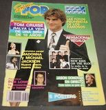 SUPER POP MAGAZINE 1990 TOM CRUISE+MADON - foto