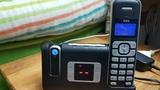 teléfono inalámbrico AEG - foto