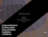 CURSO INTENSIVO DE GUITARRA (SEVILLANAS) - foto