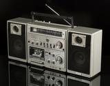 Contec 3883 ghettoblaster radio cassette - foto