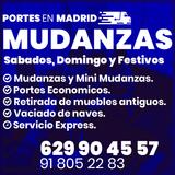 Mudanzas en Madrid Embalaje y Elevadores - foto