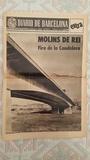 Diario de Barcelona 1975: Molins de Rei - foto