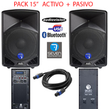 activo+pasivo seven sound AUDIOSTOCk bdn - foto