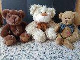 Lote 3 osos de peluche - foto
