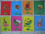 Lote 8 libretas cuadernos abeja maya - foto