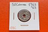 50 CÉNTIMOS 1963-63* EBC - foto