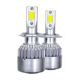 Bombillas luz coche LED H7 - foto