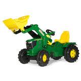 Tractor de pedales JOHN DEERE 6210 - foto