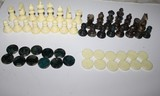 Figuras de ajedrez y damas deMARMOL - foto