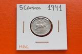 5 CÉNTIMOS 1941 MBC - foto